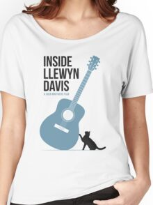 Inside Llewyn Davis film poster Women's Relaxed Fit T-Shirt