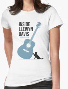 Inside Llewyn Davis film poster Womens Fitted T-Shirt