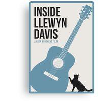 Inside Llewyn Davis film poster Canvas Print