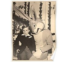 More Satanic Easter Bunny Action Poster