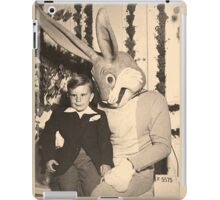 More Satanic Easter Bunny Action iPad Case/Skin