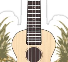 Pineapple ukulele Sticker