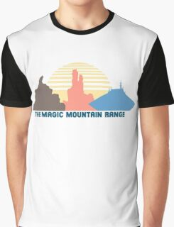 The Magic Mountain Range Graphic T-Shirt