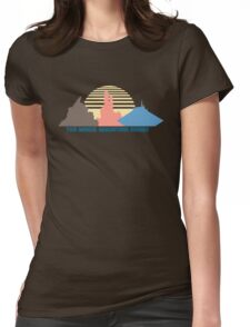 The Magic Mountain Range Womens Fitted T-Shirt