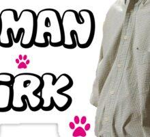 Human Kirk Sticker