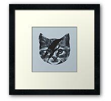 Stardust Cat Framed Print