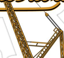 Luffing Tower Crane Sticker