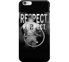 derek Jeter Respect 2 iPhone Case/Skin