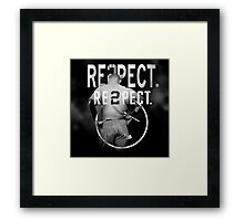 derek Jeter Respect 2 Framed Print