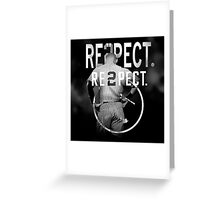 derek Jeter Respect 2 Greeting Card
