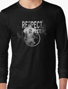 derek Jeter Respect 2 Long Sleeve T-Shirt