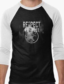 derek Jeter Respect 2 Men's Baseball ¾ T-Shirt