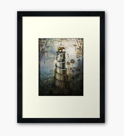 Where Keys hang on Trees Framed Print