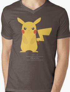 Pokemon: Pikachu #25 Mens V-Neck T-Shirt