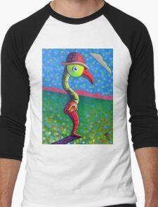 Hat Trick Men's Baseball ¾ T-Shirt