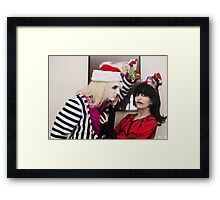 Just gimme some sugar, babes! Framed Print