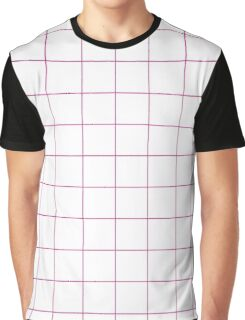 Official Barbie Pink - grid Graphic T-Shirt