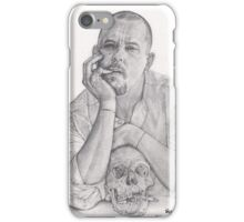 Alexander McQueen Savage Beauty Drawing iPhone Case/Skin