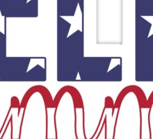 dg stars n stripes Sticker