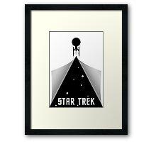 Star Trek - Enterprise Peel Framed Print