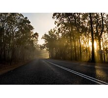 Lonely roads Photographic Print