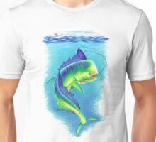 Mahi Mahi Drawing Unisex T-Shirt