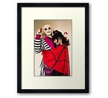 Hug-love Framed Print