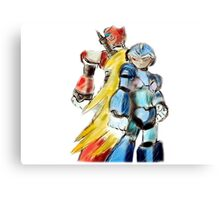 Mega Man & Zero Canvas Print