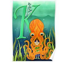 K Killer Kraken Poster