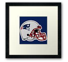 Hat Patriot England Framed Print