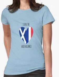I Love the Auld Alliance Womens Fitted T-Shirt