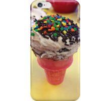 Cute cupcake microphone frosted dessert iPhone Case/Skin