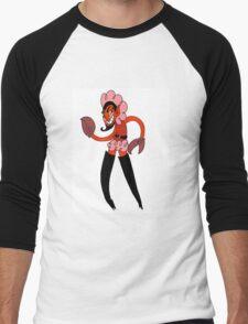 Powerpuff him Men's Baseball ¾ T-Shirt
