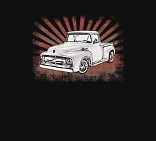 1956 Ford Truck with Sunburst Unisex T-Shirt