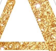 alpha gold Sticker
