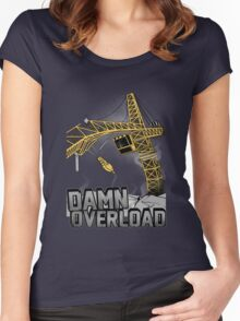 Tower Crane Incident Women's Fitted Scoop T-Shirt
