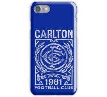 carlton football club 1961 iPhone Case/Skin