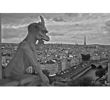 Gargoyle Photographic Print