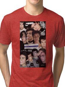Wes Tucker Collage Tri-blend T-Shirt