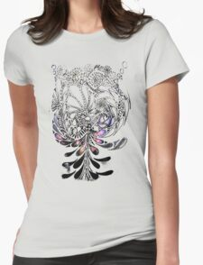 Bottle Brush Womens Fitted T-Shirt
