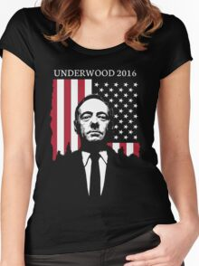 Underwood for 2016 Women's Fitted Scoop T-Shirt