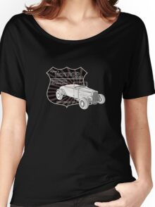 Rykers Hot Rod Garage Women's Relaxed Fit T-Shirt