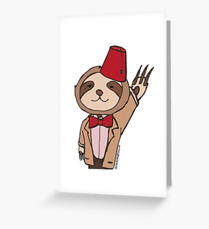 The Eleventh Sloth Greeting Card