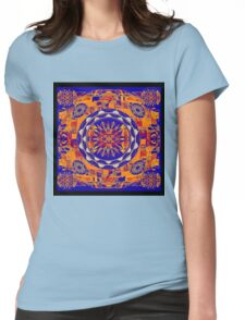Sun dial of mortal men Womens Fitted T-Shirt