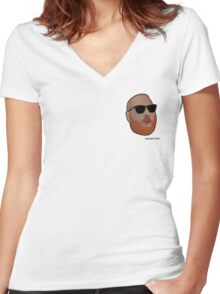 Action Bronson - RSHH Cartoon Women's Fitted V-Neck T-Shirt