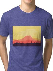 Afternoon Mountain Tri-blend T-Shirt
