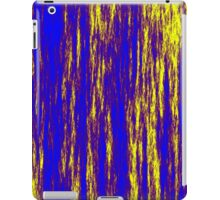 Electric Fur - Blue & Yellow iPad Case/Skin