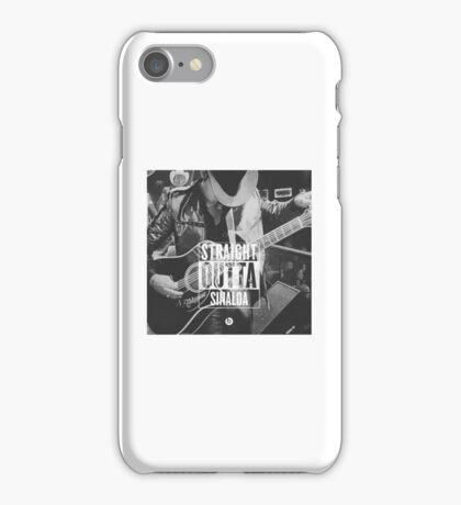 Straight Outta Sinaloa - Ariel Camacho iPhone Case/Skin