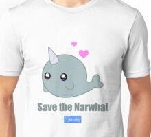 Save the Narwhal Unisex T-Shirt