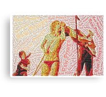 Dance to the beat of the livin dead Canvas Print